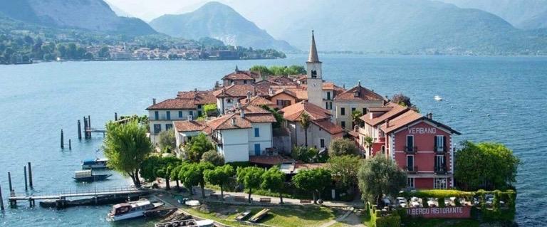Piedmont Delights Isola Pescatori Stresa Lago Maggiore