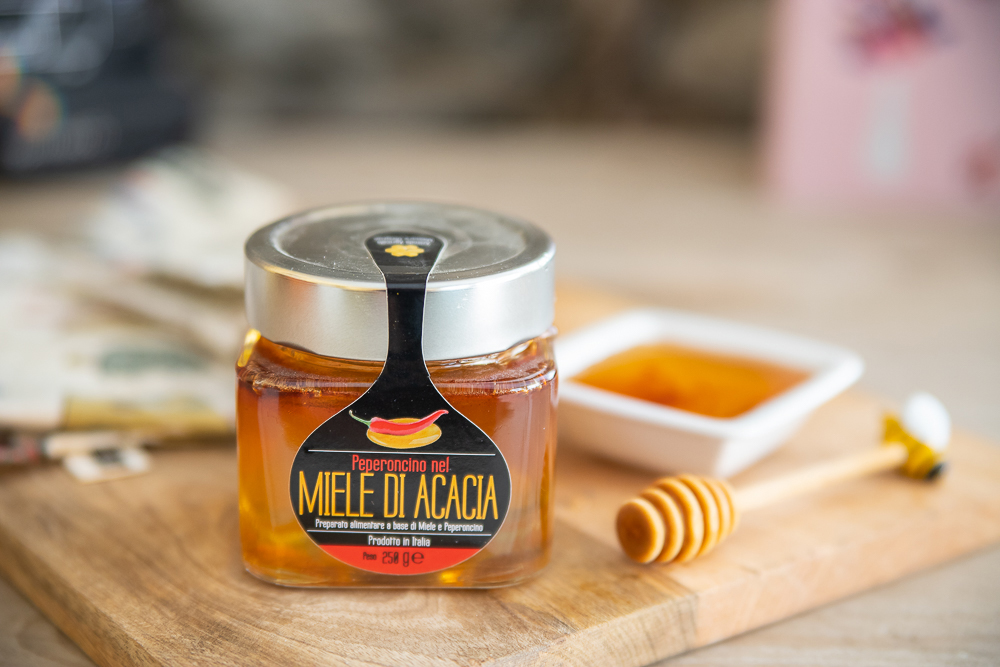 Acacia Honey with Chilli – 250gr