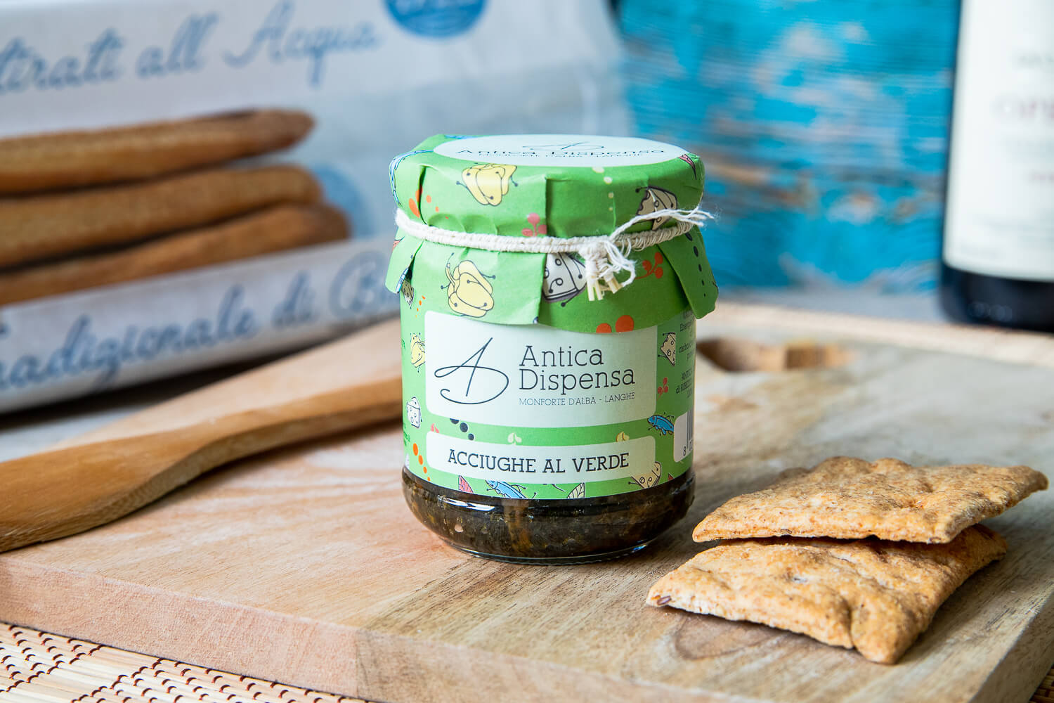 Anchovies in Green Sauce – 180gr