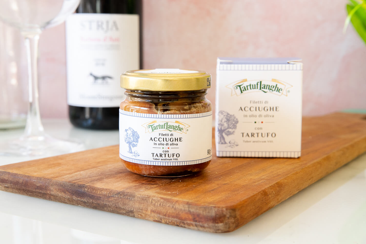 Anchovy fillets with Truffle – 90gr