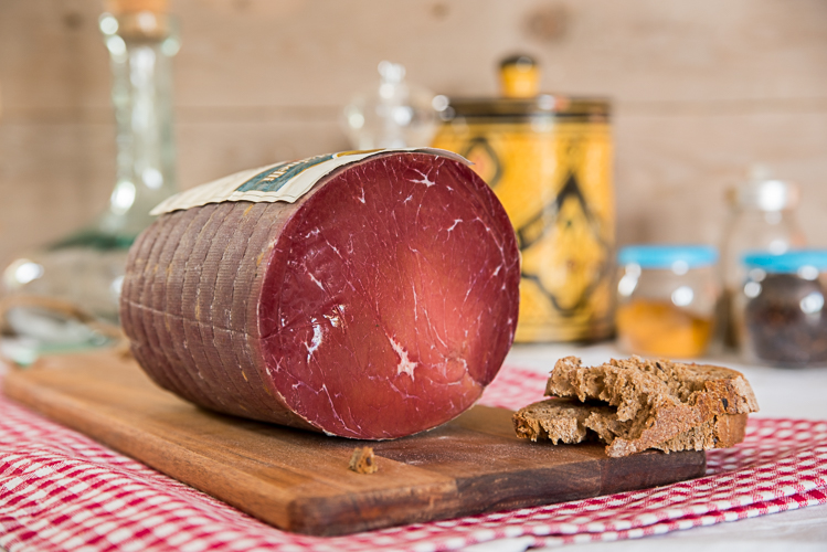 Bresaola bovina punta d'anca –  1.5/1.7kg