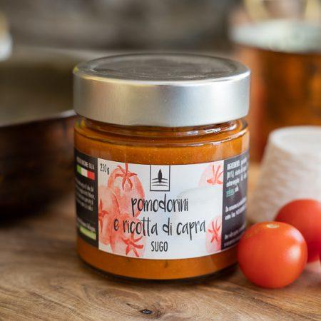 Sugo con Pomodorini & Ricotta di Capra