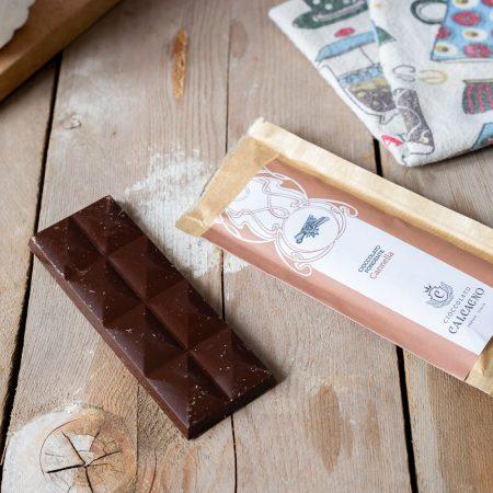 Cioccolato fondente con cannella – 45gr