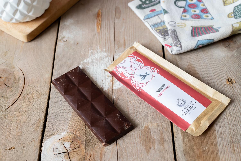 Cioccolato fondente con peperoncino – 45gr