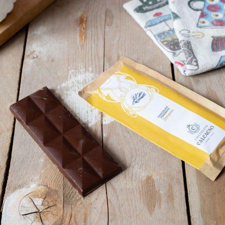 Cioccolato fondente con zenzero – 45gr