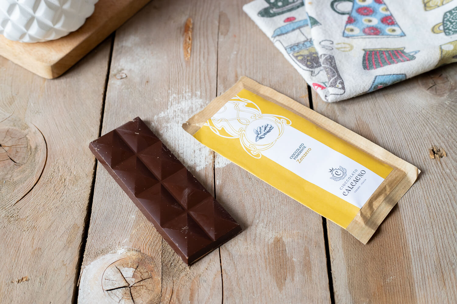 Dark chocolate with ginger – 45gr