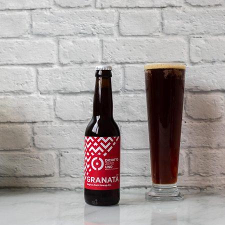 "Belgian Dark Strong Ale ""Granata"""