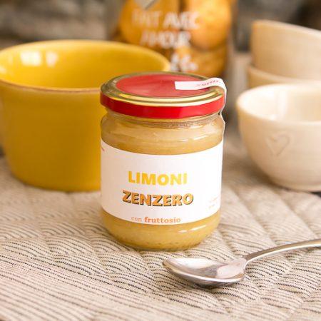 Lemon and ginger jam