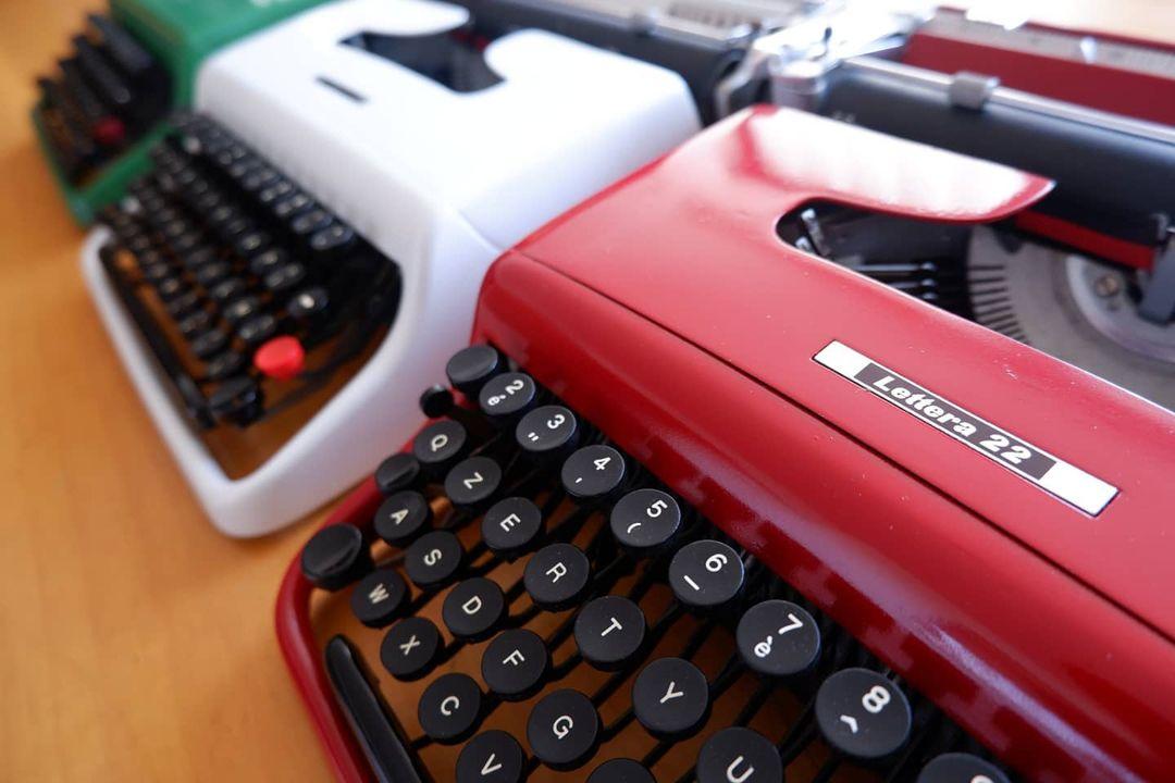 Macchina Scrivere Blog Piedmont Delights Olivetti
