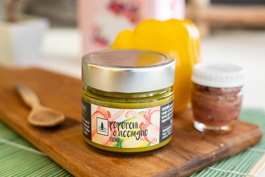 Crema di Peperoni & Acciughe – 170gr