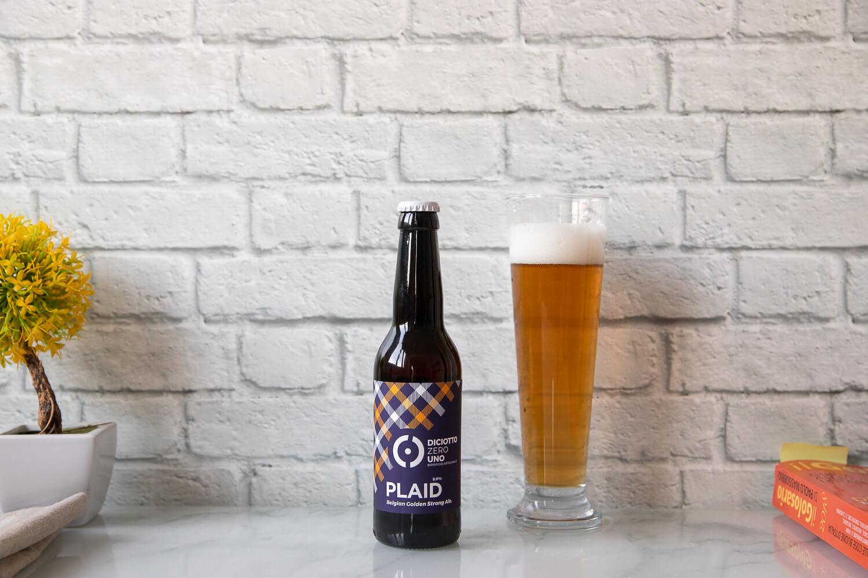 """Belgian Golden Strong Ale """"Plaid"""" – 33cl"""