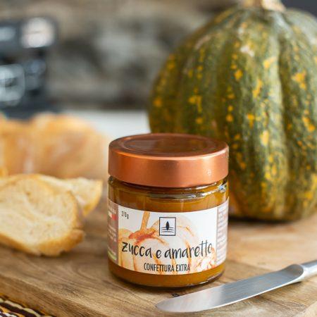 Pumpkin & Amaretto Extra Jam – 270gr