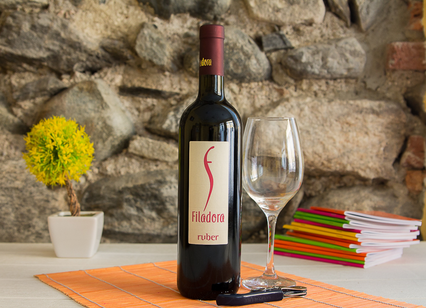 """Red Wine """"Ruber"""""""