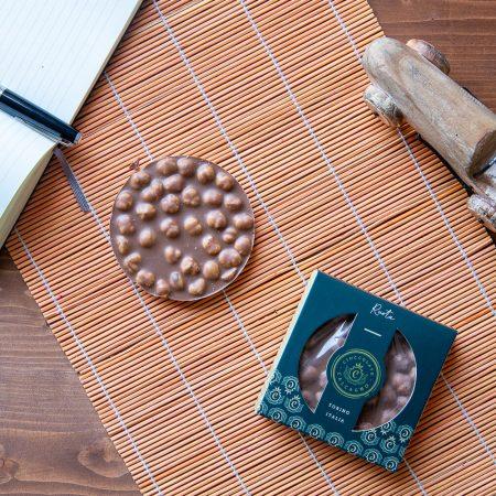 Ruota di cioccolato latte e nocciole – 80gr