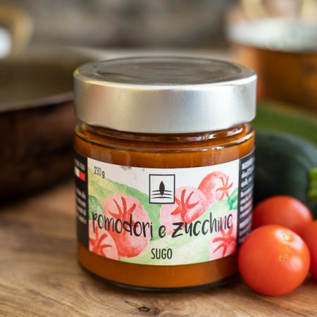 Pasta sauce with Zucchini – 210gr