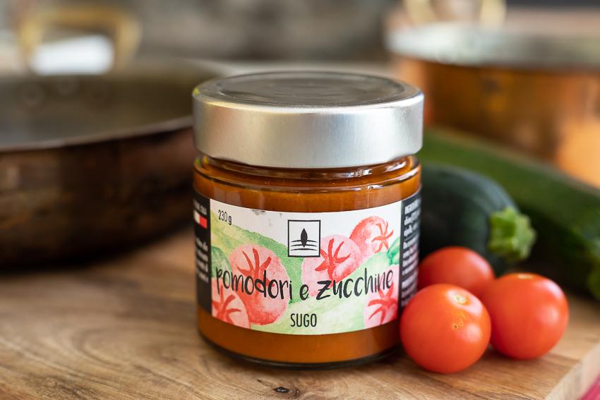 Sugo di Pomodori & Zucchine – 210gr