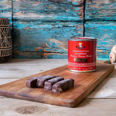 Dark Chocolate Torrone can