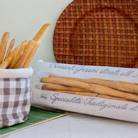 Piedmontese Water Grissini Breadsticks