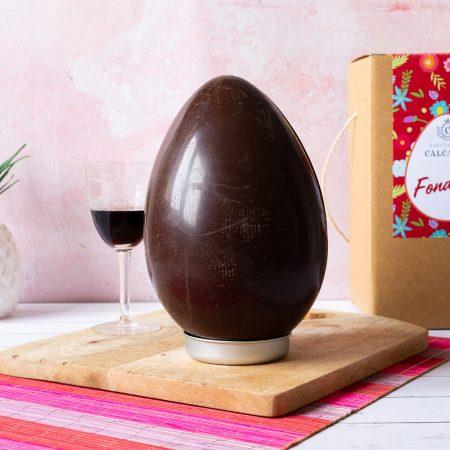Uovo di Pasqua al cioccolato fondente – 300gr