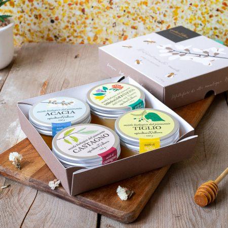 Honey tasting box – 400gr