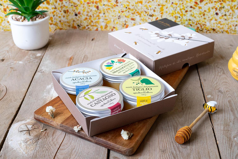 Cofanetto degustazione miele – 400gr
