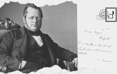Guess who's coming to dinner? Camillo Benso, Count of Cavour
