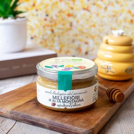 High-mountain wildflower organic honey