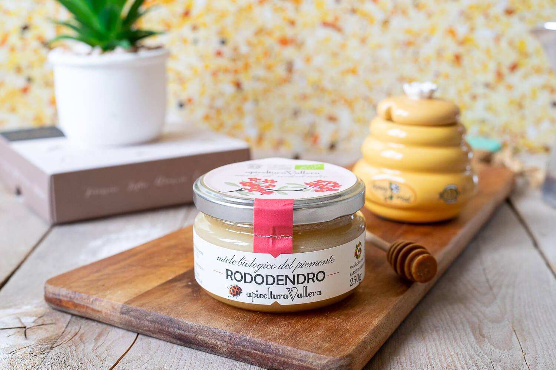 Miele organico di rododendro