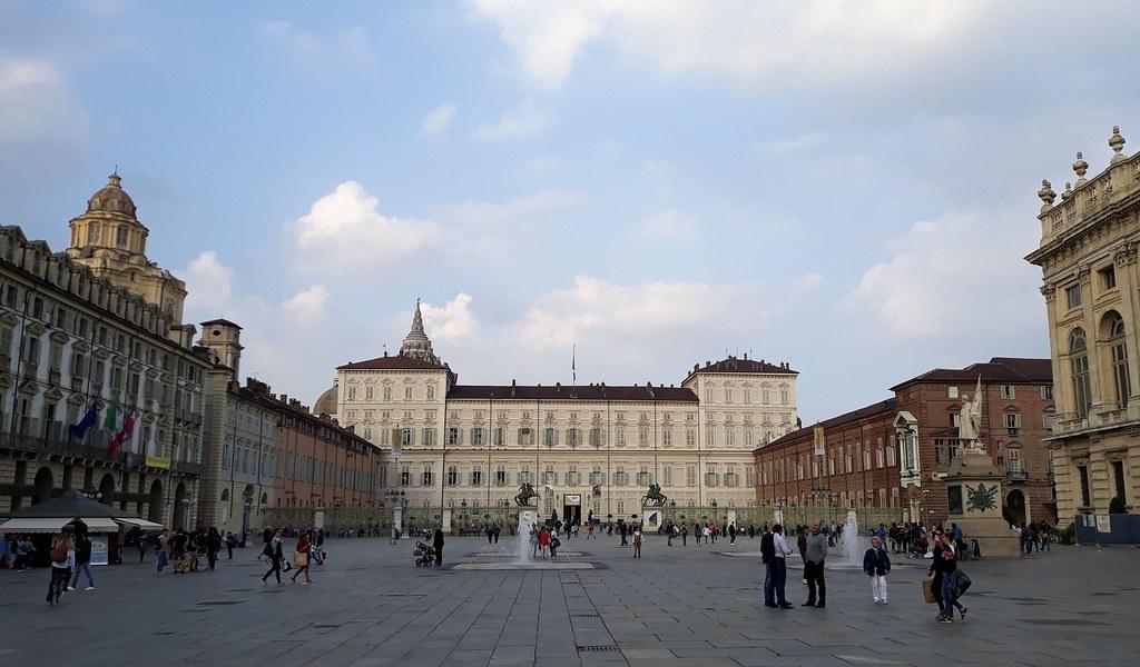 Piazza Castello Turin Piedmont Delights Blog