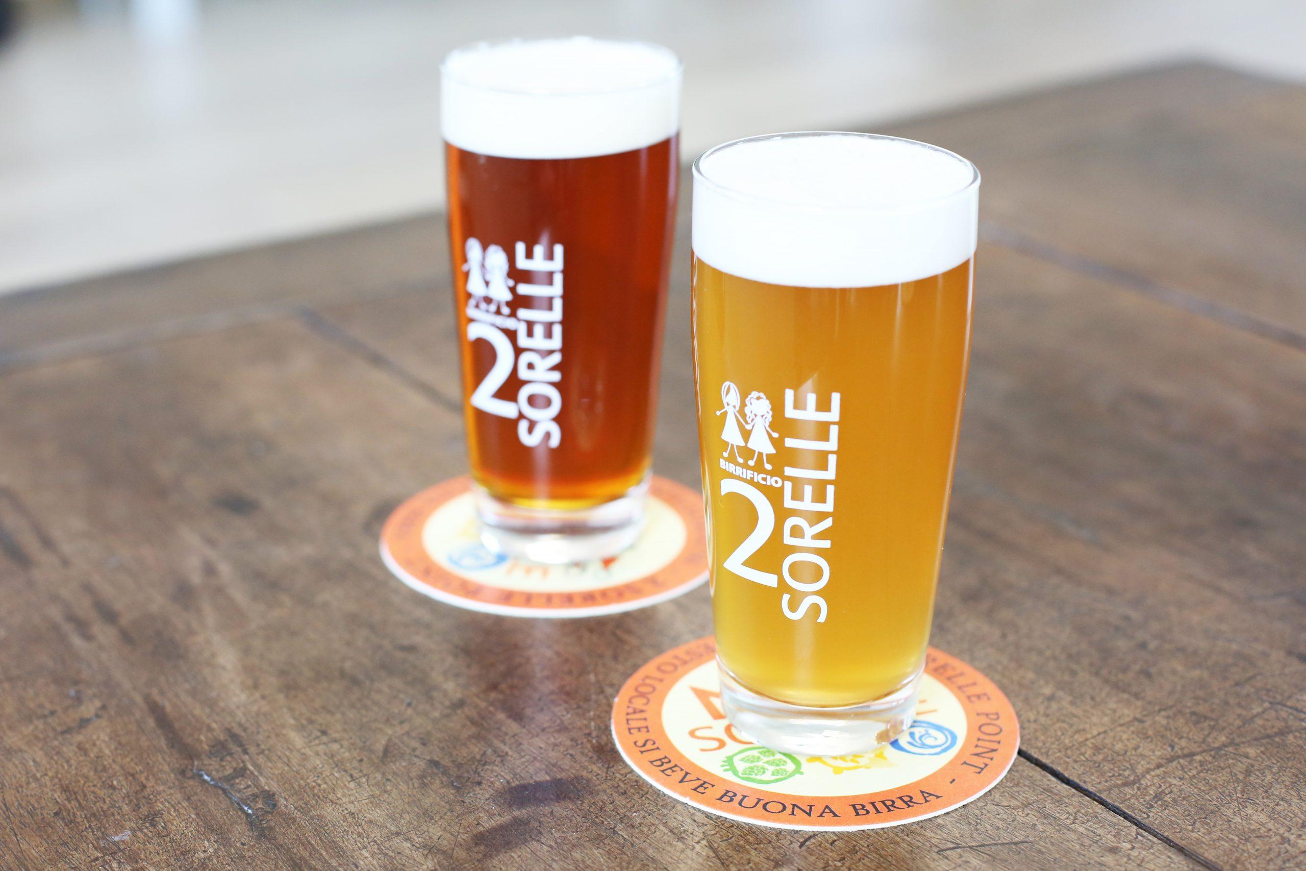 Amber Ale Blonde Beer Brewer 2Sorelle Italian Piedmont Delights
