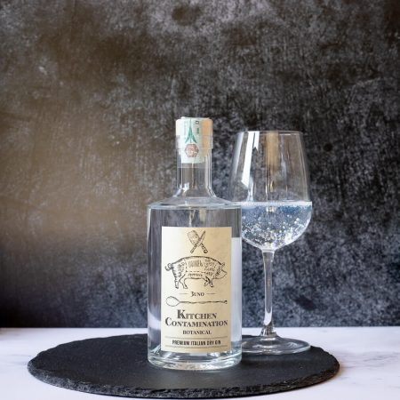 Dry Gin Kitchen Contamination
