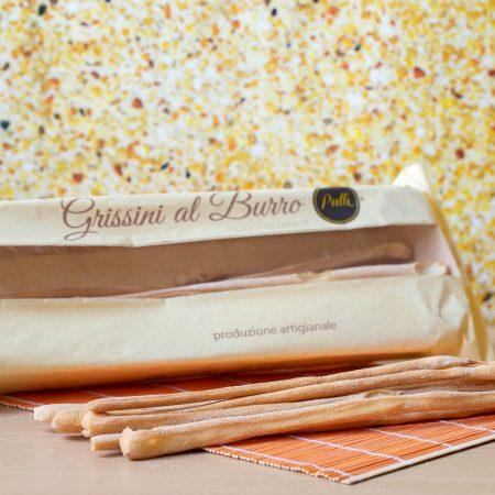 Artisanal Breadsticks with butter