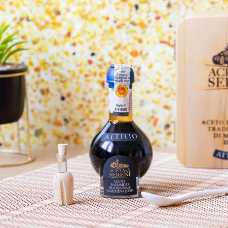 Attilio – Traditional Balsamic Vinegar of Modena  P.D.O Aged 20 years