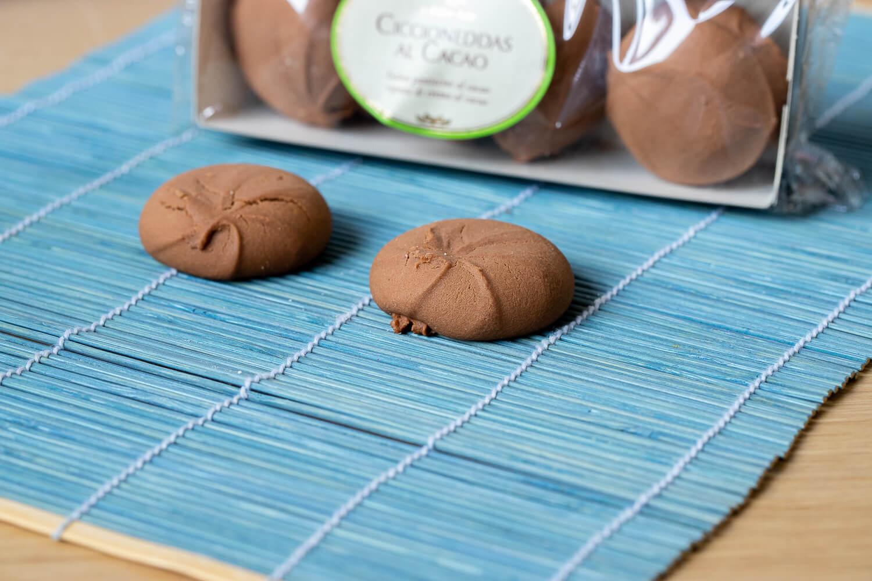 Ciccioneddas with Chocolate