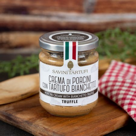 Porcini Cream with Truffle