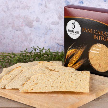 Sardinian whole wheat carasau bread