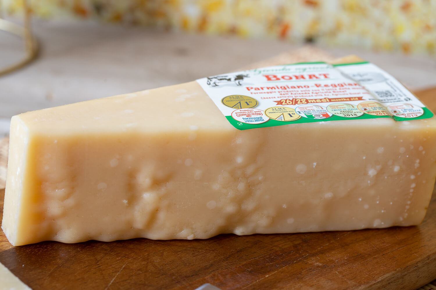 Parmigiano Reggiano aged cheese 26/28 months