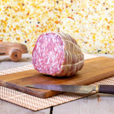 Salame Zia con l'aglio